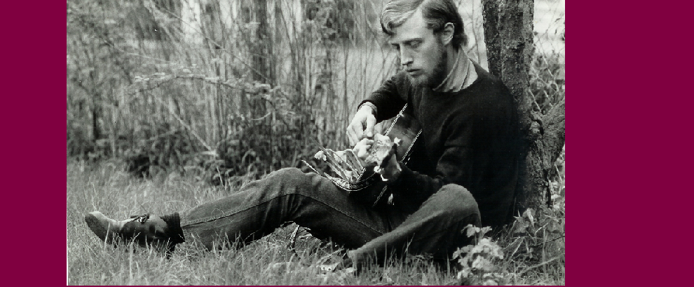 Rob van Spyk in 1971 one half of the original van Spyk/Friend song writing partnership.